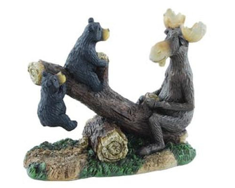 Wilcor Woodi and Maxim Seesaw Figure