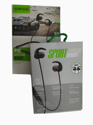 Audífonos Sport  Wireless  Headset