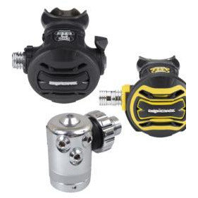 Apeks XTX40 With XTX40 Octo Includes Braided Hoses and DS4 first stage