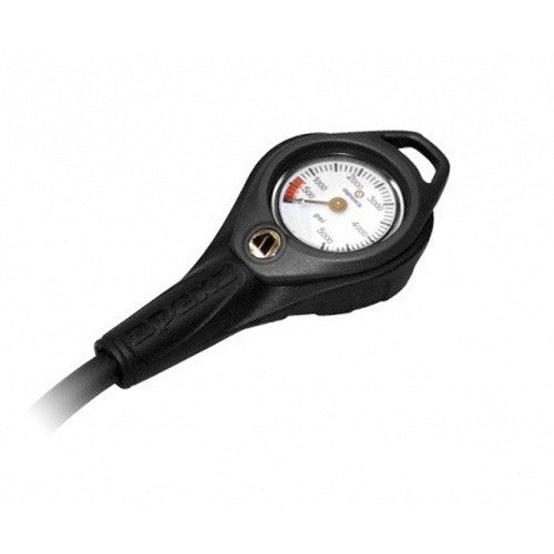 APEKS PRESSURE GAUGE WITH FLEXI BRAIDED HOSE