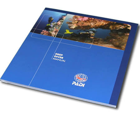 PADI Deep Diver Manual - 2018 Version - Free Postage
