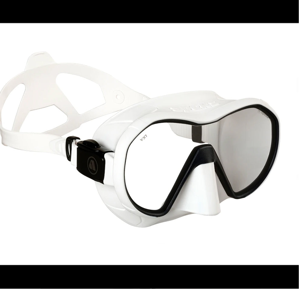 APEKS VX1 DIVE MASK WHITE PURE CUT