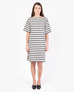 Dodora Striped Dress in Ecru by Acne Studios Woman at Mohawk General Store