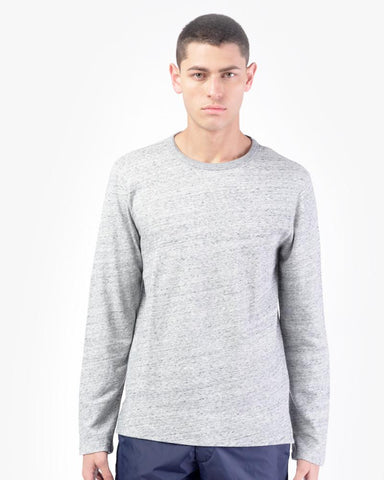 New Sweat Airy Fleece in Light Grey by Officine Generale at Mohawk General Store
