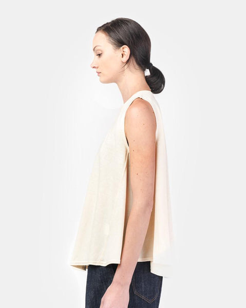Swing Tank in White by SMOCK Woman at Mohawk General Store