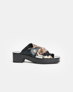 Criss Cross Fabric Sandal by Dries Van Noten Woman at Mohawk General Store