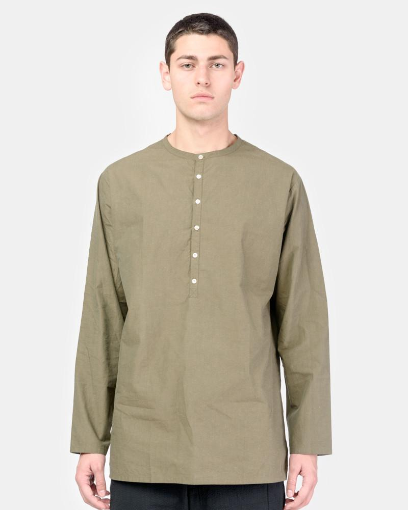 Poolside Popover Shirt in Green by SMOCK Man at Mohawk General Store