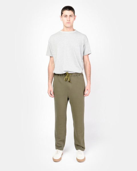 Sweatpants in Olive by SMOCK Man at Mohawk General Store