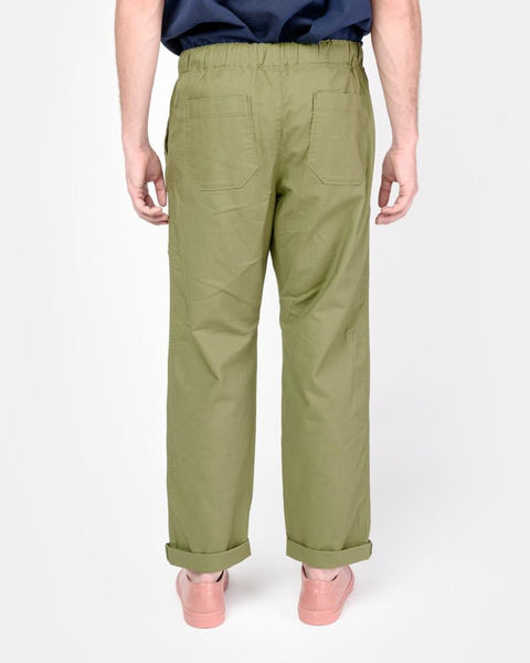 Beach Pant in Olive by SMOCK Man at Mohawk General Store