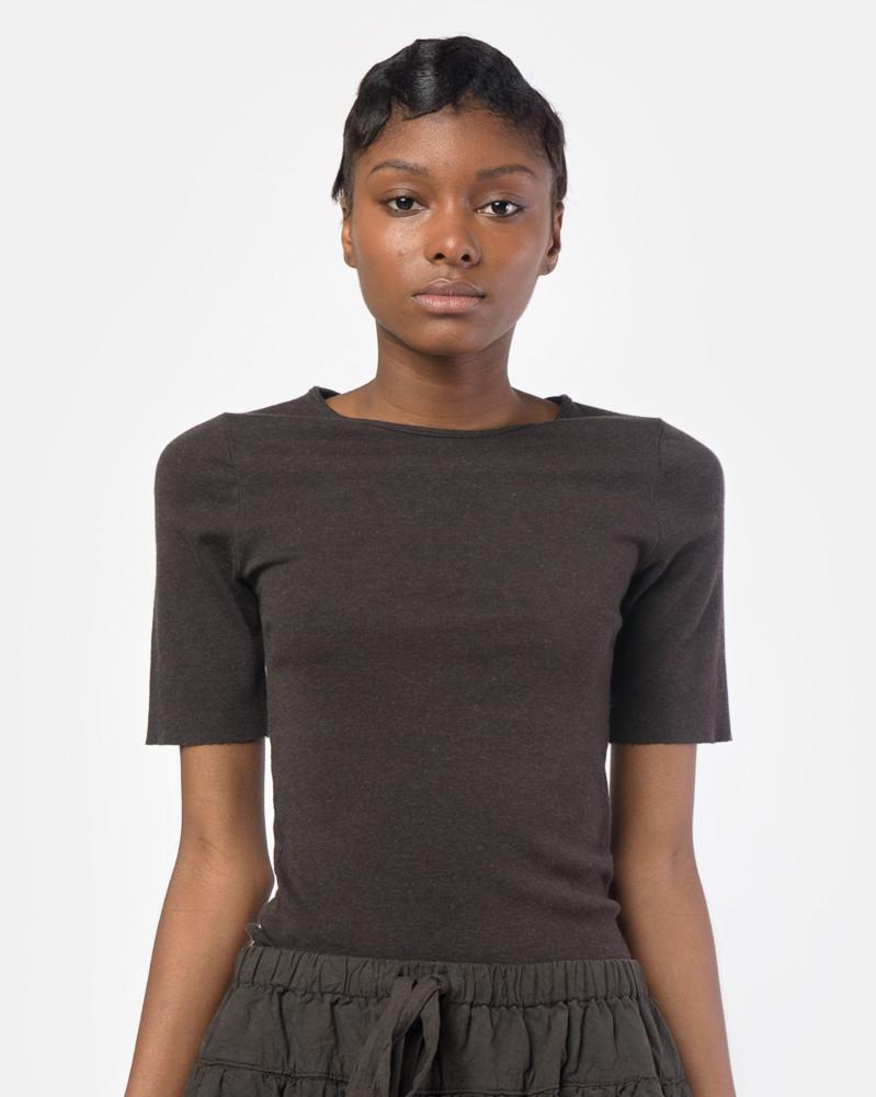 6d656b0d8ac Cashmere Rib Tee in Carbon by Lauren Manoogian at Mohawk General Store ...