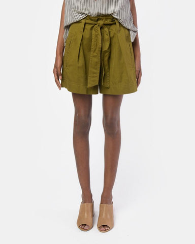 Oscar Short in Khaki by Isabel Marant Étoile at Mohawk General Store