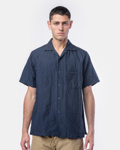 Snap-Down Shirt in Navy by SMOCK Man at Mohawk General Store