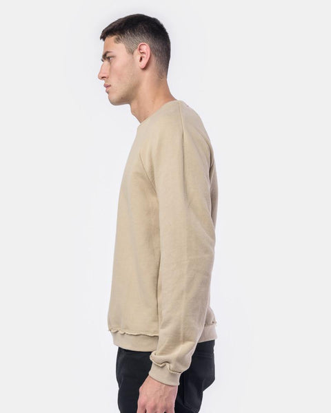 Raw Edge Raglan Crew in Dune by John Elliott at Mohawk General Store