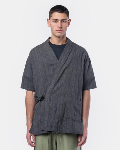 Onsen Cardigan in Smoke by SMOCK Man at Mohawk General Store