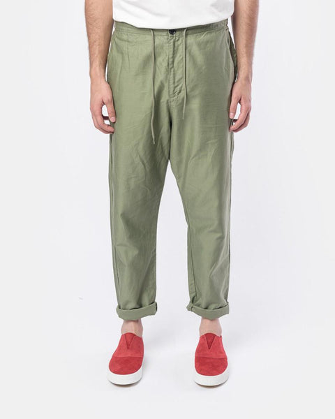Amalfi Pant in Green by SMOCK Man at Mohawk General Store