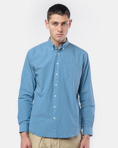 Leisure Poplin One in Denim Blue by Schnayderman's at Mohawk General Store