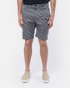 Ghurka Shorts in Navy Paisley by Engineered Garments at Mohawk General Store