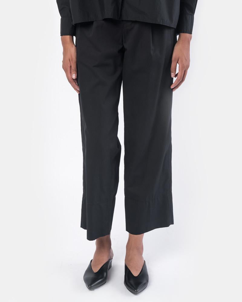 Isamu Pant in Black by SMOCK Woman at Mohawk General Store