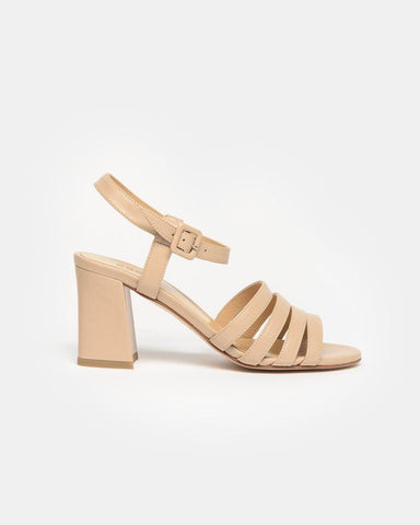 Palma High Sandal in Camel Calf by Maryam Nassir Zadeh at Mohawk General Store
