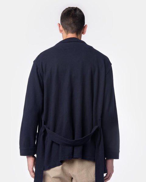 Ginza Robe in Navy by SMOCK Man at Mohawk General Store