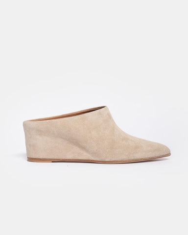 Irma Wedge in Beige by ATP Atelier at Mohawk General Store