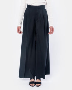 Wide Leg Pants in Navy by Hyke at Mohawk General Store