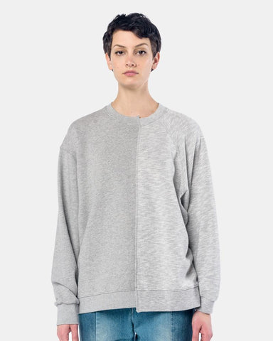French Terry Drop Raglan Sweatshirt in Grey by StandAlone at Mohawk General Store