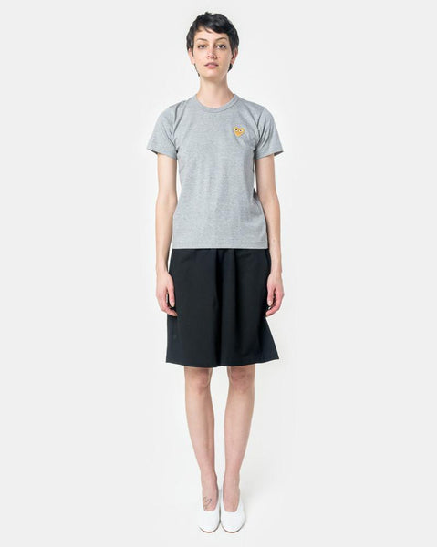 Play T-Shirt with Gold Heart in Grey by Comme des Garçons PLAY at Mohawk General Store
