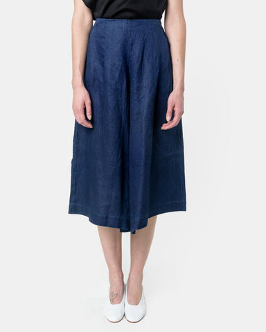 Herringbone Culotte in Indigo by SMOCK Woman at Mohawk General Store