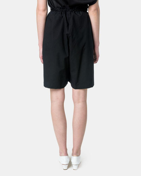 Boyfriend Short in Black by SMOCK Woman at Mohawk General Store
