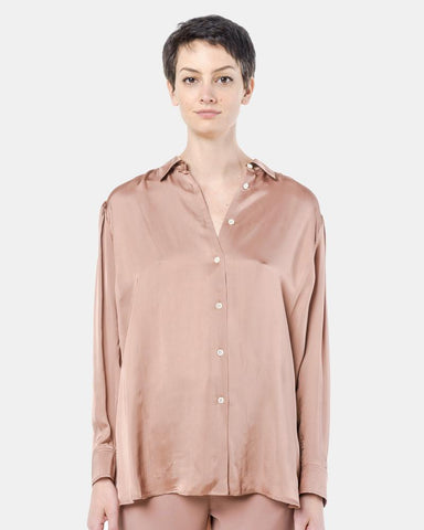 Elma Air Shirt in Nude Pink by Hope at Mohawk General Store