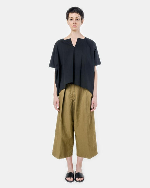 Caftan Top in Black by SMOCK Woman at Mohawk General Store