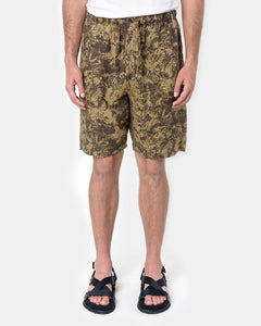 Fauna Print Drop Short in Tobacco by SMOCK Man at Mohawk General Store