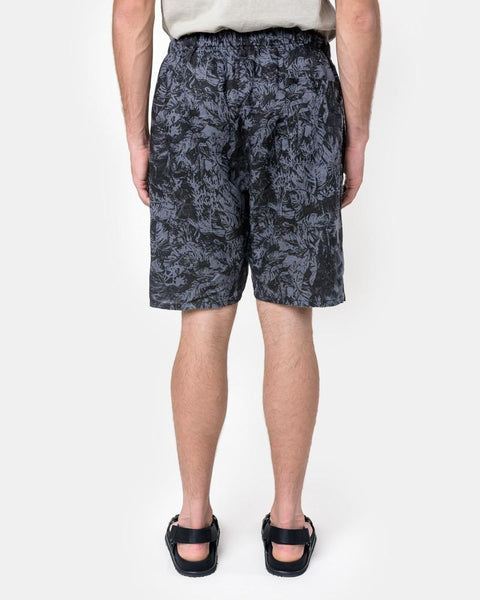 Fauna Print Drop Short in Petrol by SMOCK Man at Mohawk General Store
