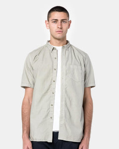 Dweller B.D Short Sleeve Shirt in Sand by Nonnative at Mohawk General Store