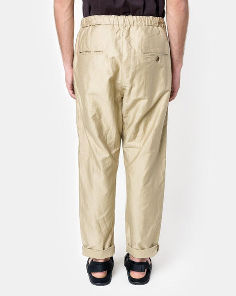 Amalfi Pant in Khaki by SMOCK Man at Mohawk General Store