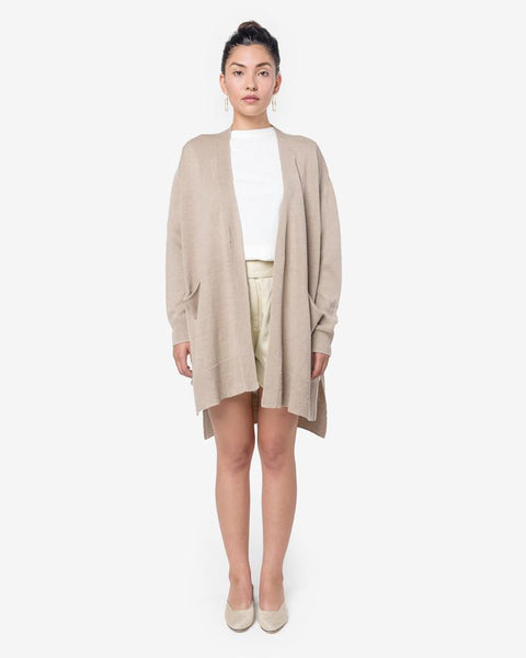 Whole Cardi in Beige by Hope at Mohawk General Store