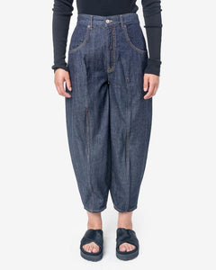 Denim Pants in Dark Blue by MM6 Maison Margiela at Mohawk General Store