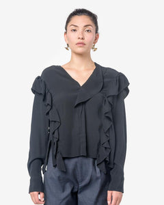 Welby Top in Black by Isabel Marant Étoile at Mohawk General Store
