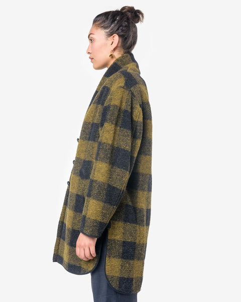 Gino Coat in Dark Green by Isabel Marant Étoile at Mohawk General Store