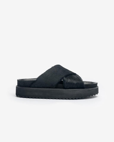 Case Band Sandal in Black by Hope at Mohawk General Store
