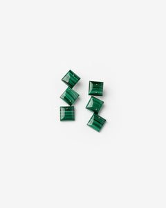 Mobile Earrings in Malachite by Jessica Winzelberg at Mohawk General Store