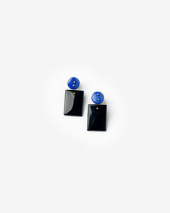 Mobile Earrings in Lapis/Onyx by Jessica Winzelberg at Mohawk General Store