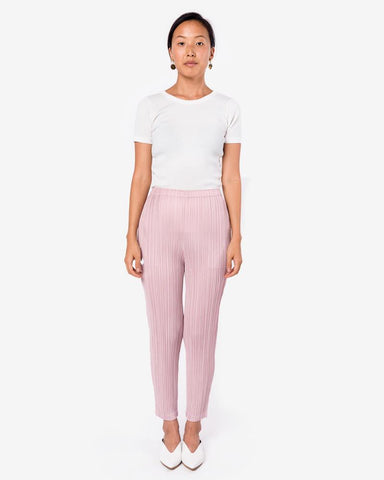 JF431 Pant in Pink by Issey Miyake Pleats Please at Mohawk General Store