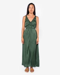 Cinched Tie Dress in Jade by Raquel Allegra at Mohawk General Store