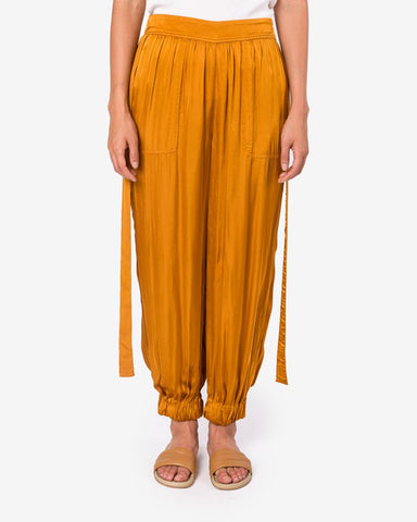 Decon Tuxedo Pant in Goldenrod by Raquel Allegra at Mohawk General Store