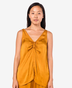 Cinched Tank in Goldenrod by Raquel Allegra at Mohawk General Store