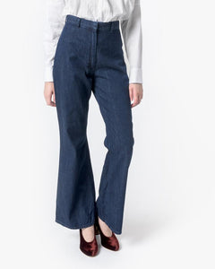 High-Waisted Denim Trouser by SMOCK Woman at Mohawk General Store - 1