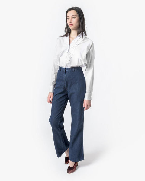 High-Waisted Denim Trouser by SMOCK Woman at Mohawk General Store - 2