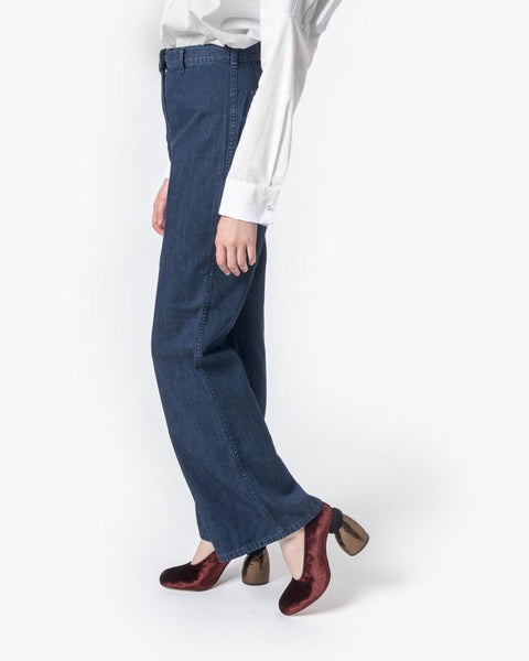 High-Waisted Denim Trouser by SMOCK Woman at Mohawk General Store - 3